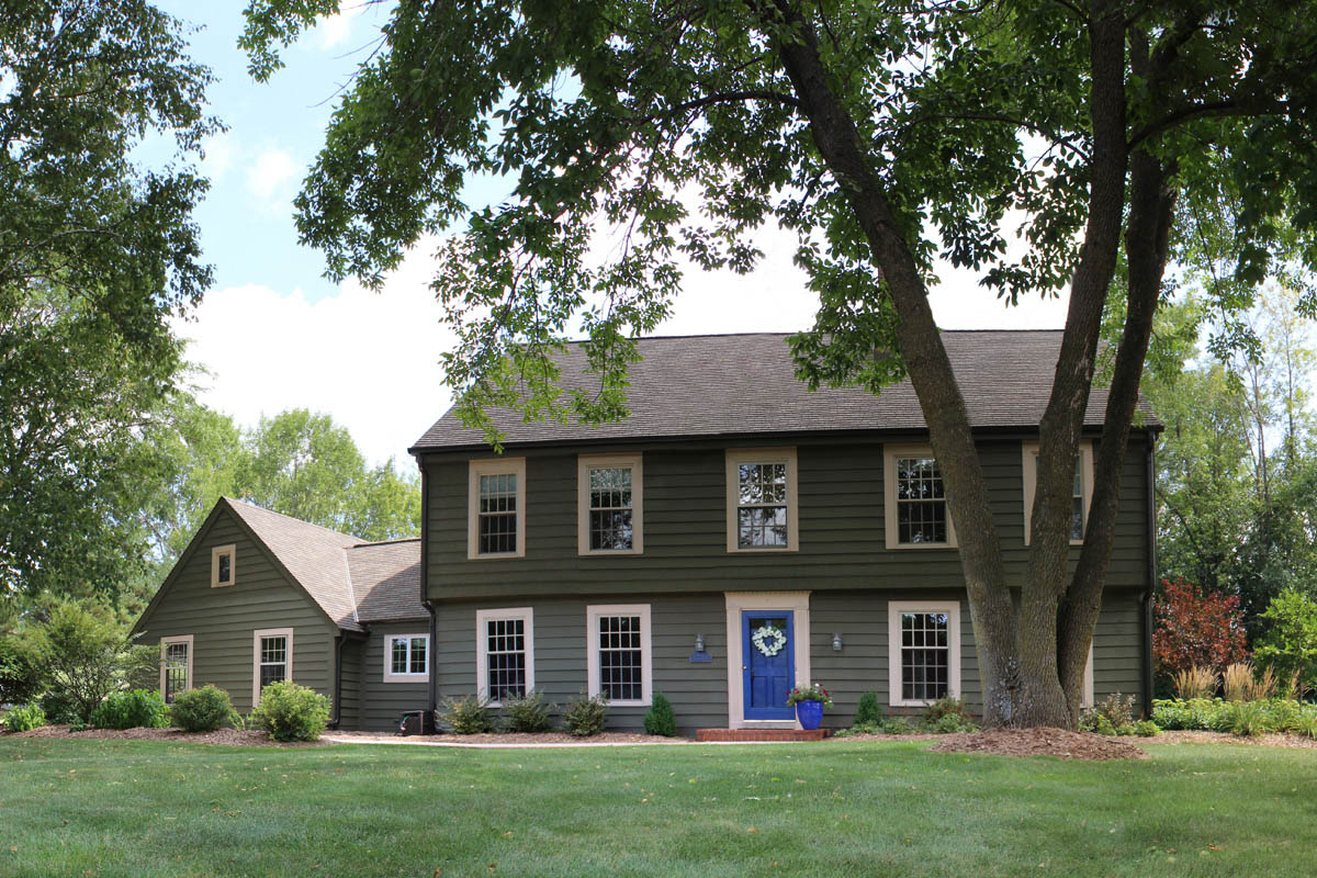 Modern Colonial Roof Mequon WI