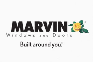 Marvin window and doors company logo