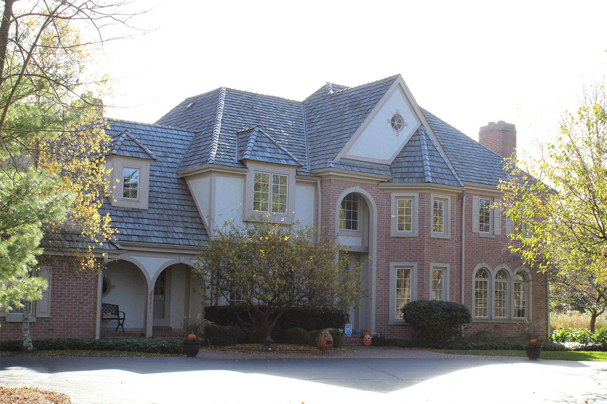 New Roof For A Timeless Estate Mequon Bci Exteriors