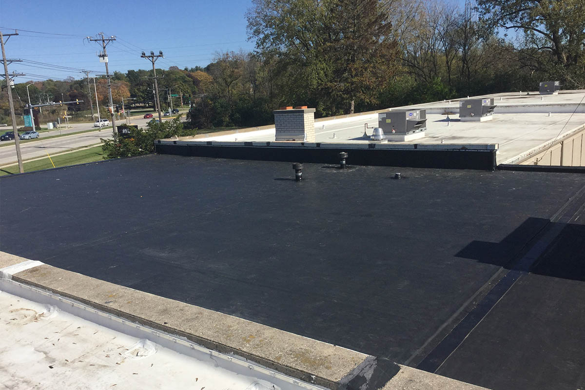 EPDM Is Lightweight, Ideal For New Construction And Retrofit Systems  Without Adding Excessive Weight To The Roof Deck. This Material Can  Withstand The ...