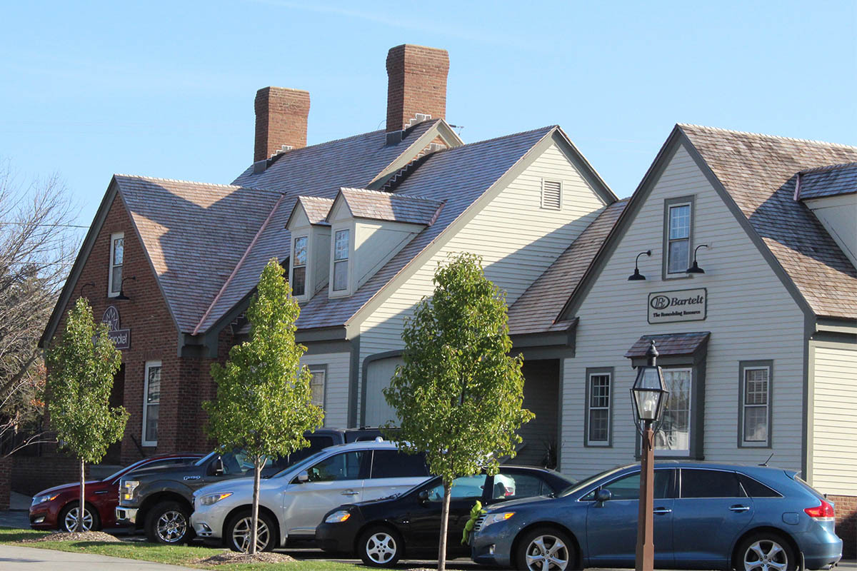 Wheel & Sprocket Cedar Roof