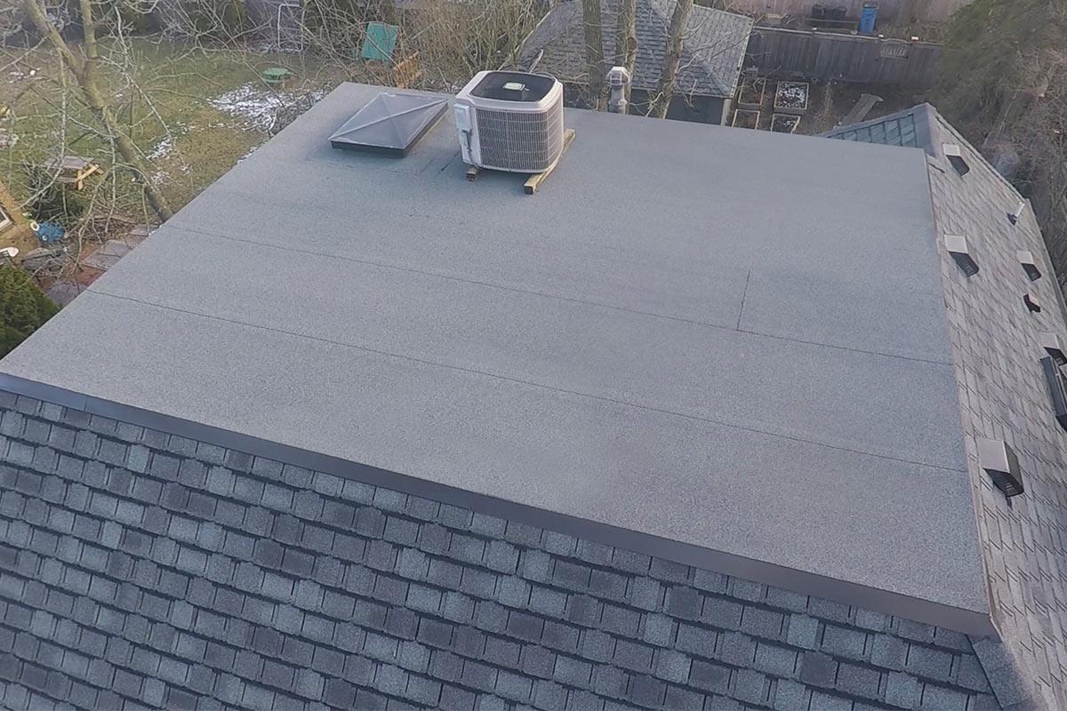 Self Adhered Modified Flat Roof Whitefish Bay Bci
