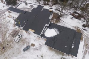 flat rubber roof Hartland Wisconsin