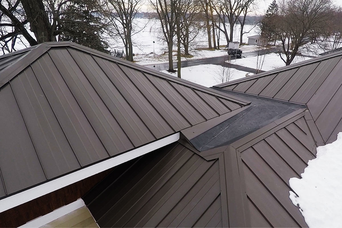 Metal Roof for House Addition - Oconomowoc - BCI Exteriors