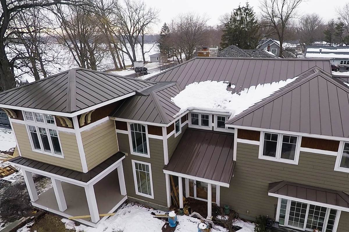 Metal Roof For House Addition Oconomowoc Bci Exteriors