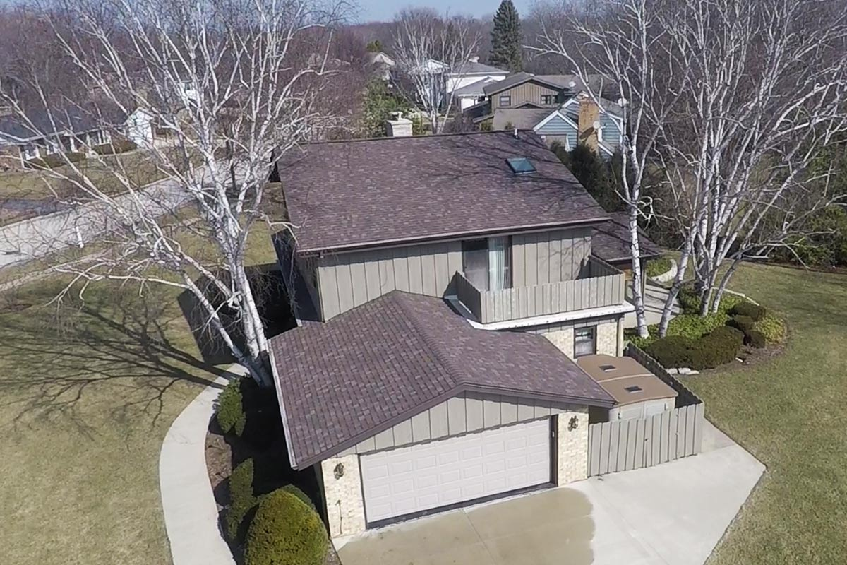 Flagstone Brown Roof Greendale Bci Exteriors