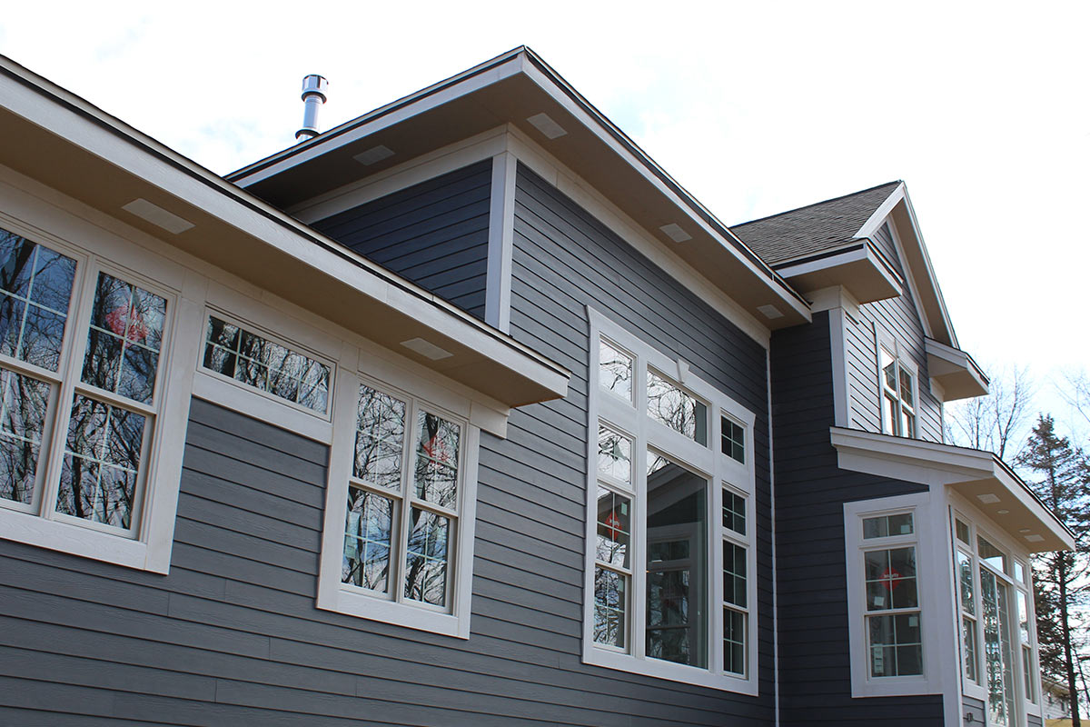 Beautiful Night Grey Siding New Berlin Bci Exteriors