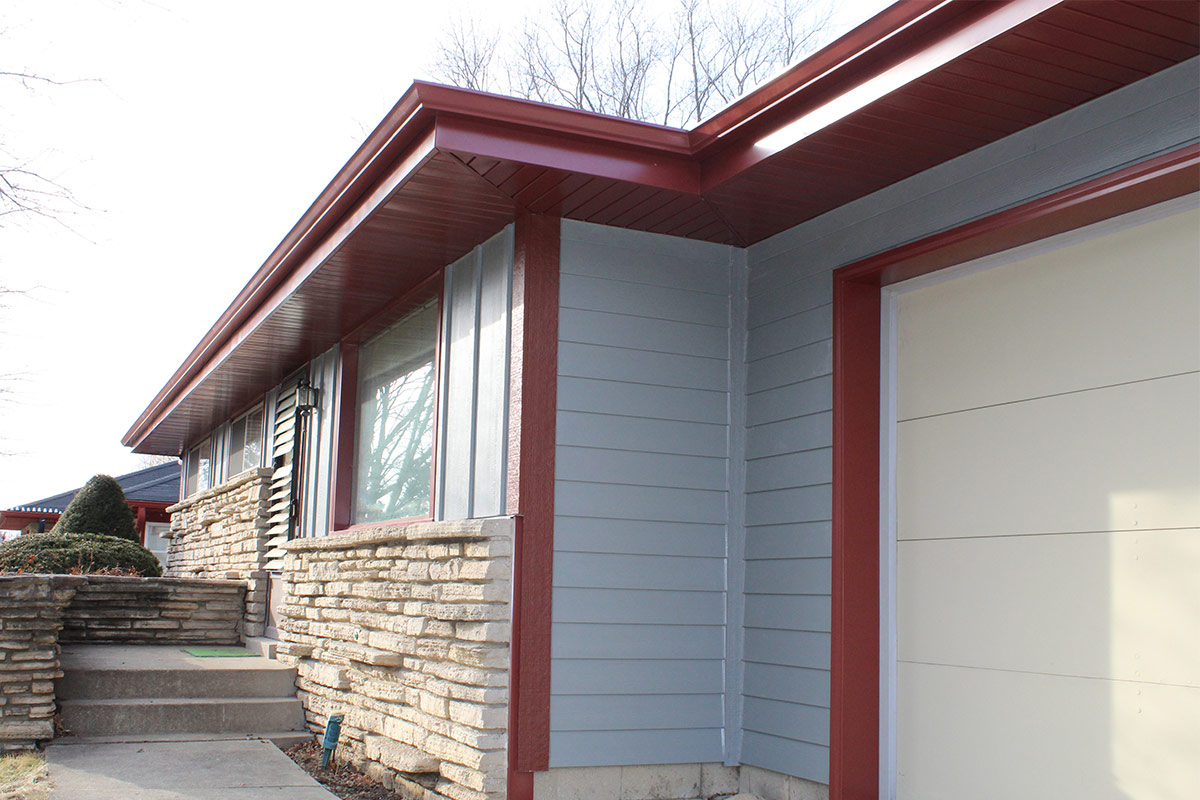 Red Around The Edges Brown Deer Bci Exteriors