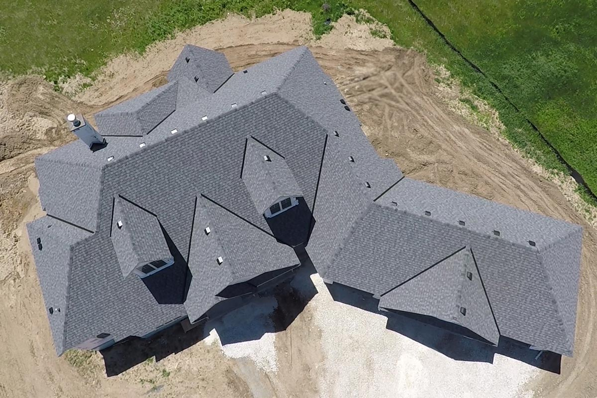 Pewter Grey Roof Mequon Bci Exteriors