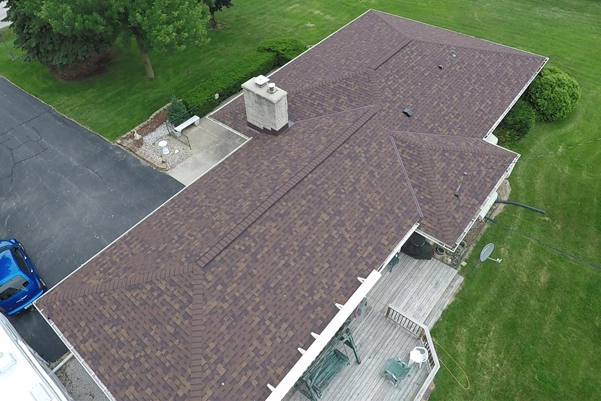 Low Pitched Roof Brookfield Bci Exteriors