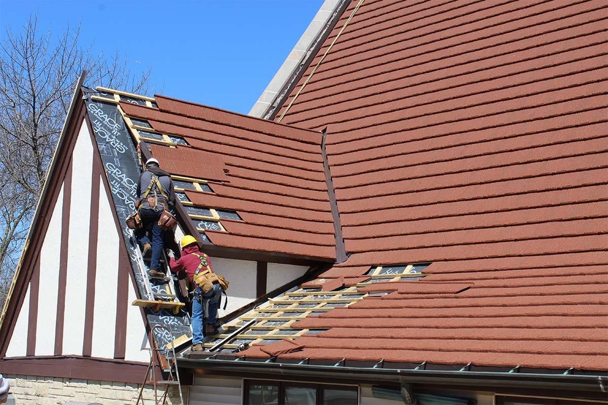Christ Church Decra Roof Milwaukee Bci Exteriors